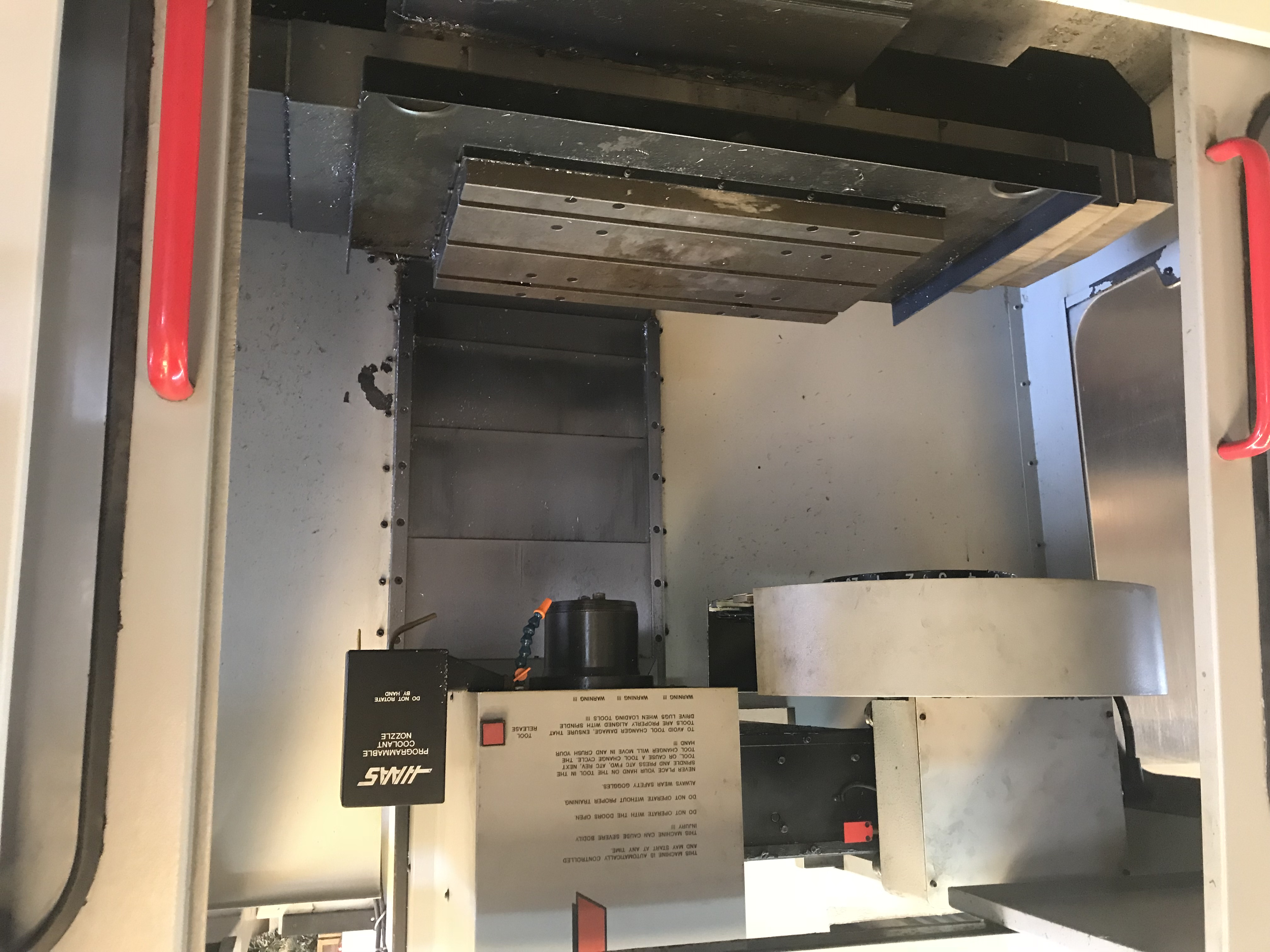 Haas VF-0 VMC Vertical Machining Center - Fabricating