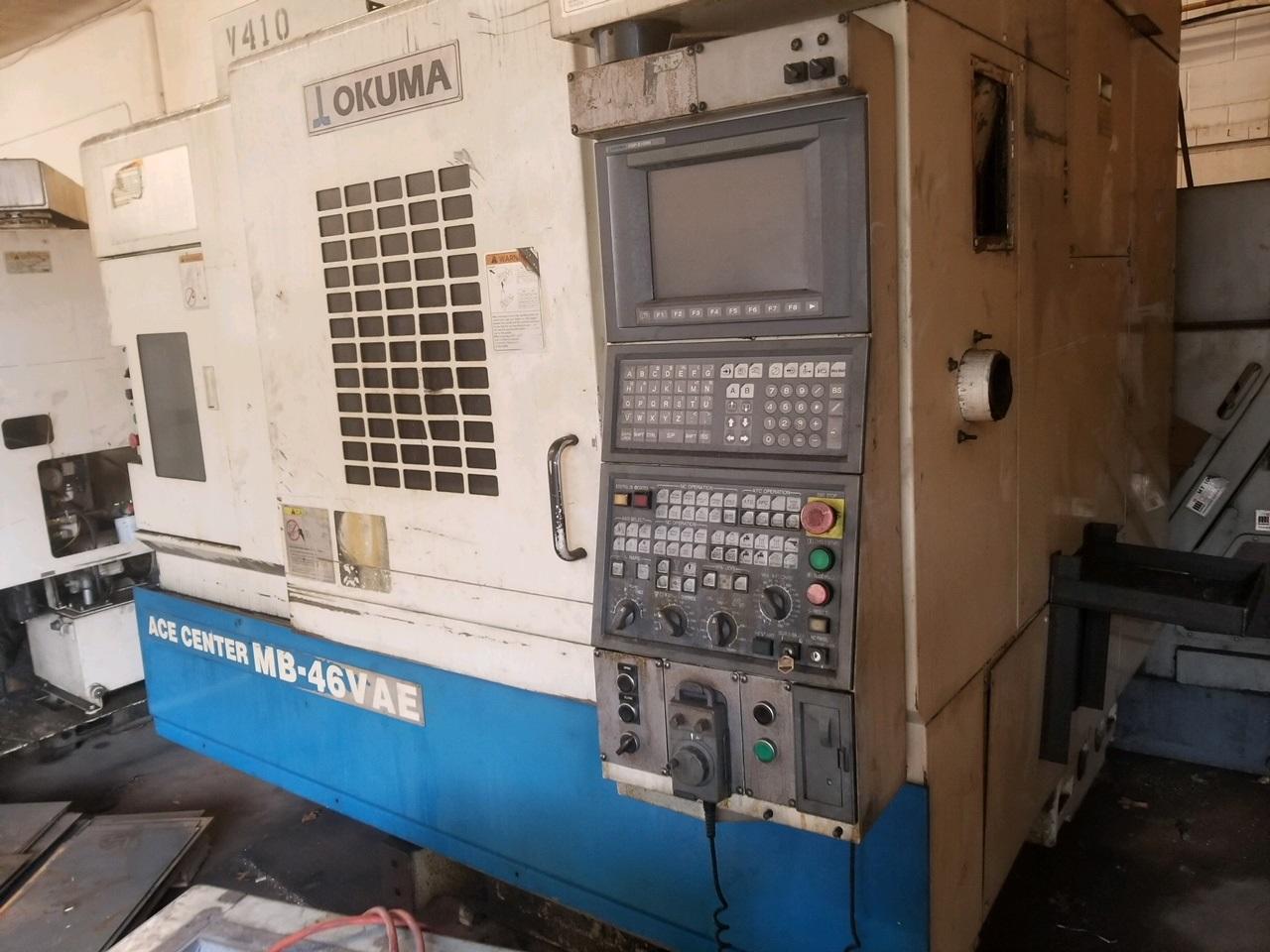 Okuma MB-46 VAE CNC VERTICAL MACHINING CENTER - Fabricating